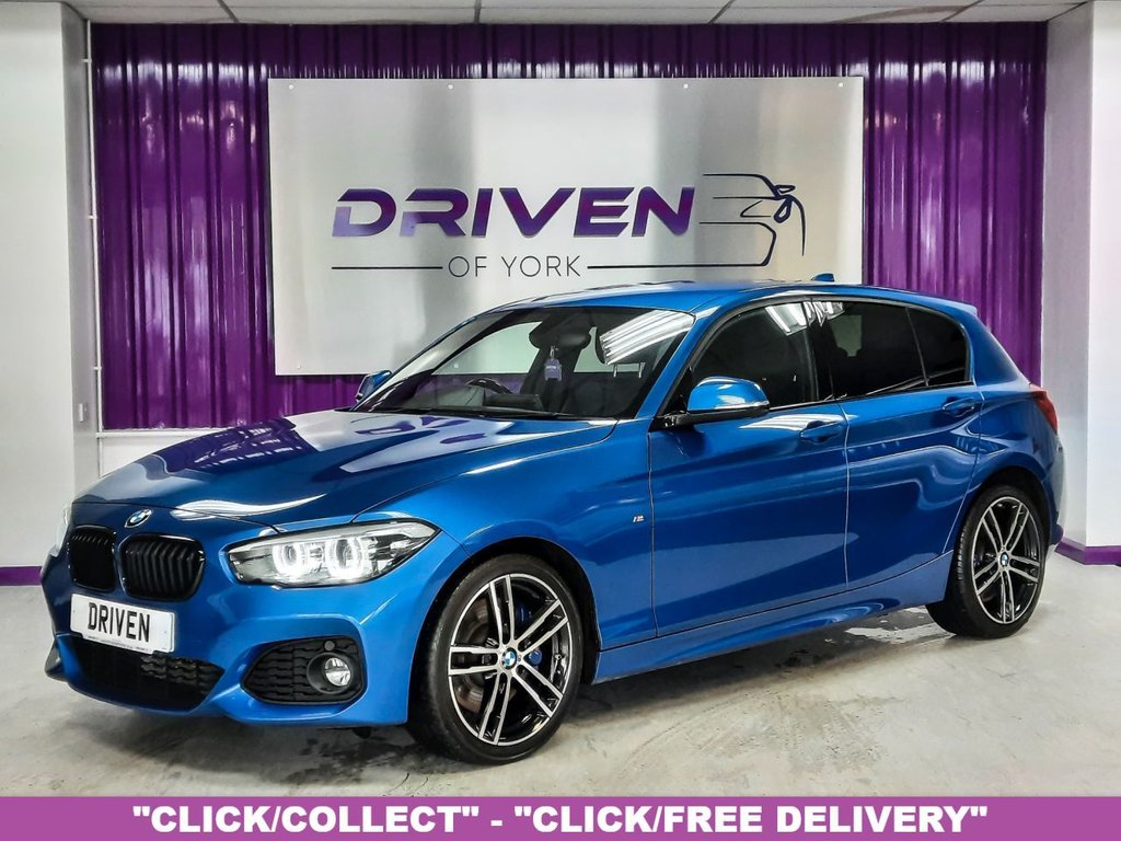 USED 2018 68 BMW 1 SERIES 2.0 118D M SPORT SHADOW EDITION 5d 147 BHP
