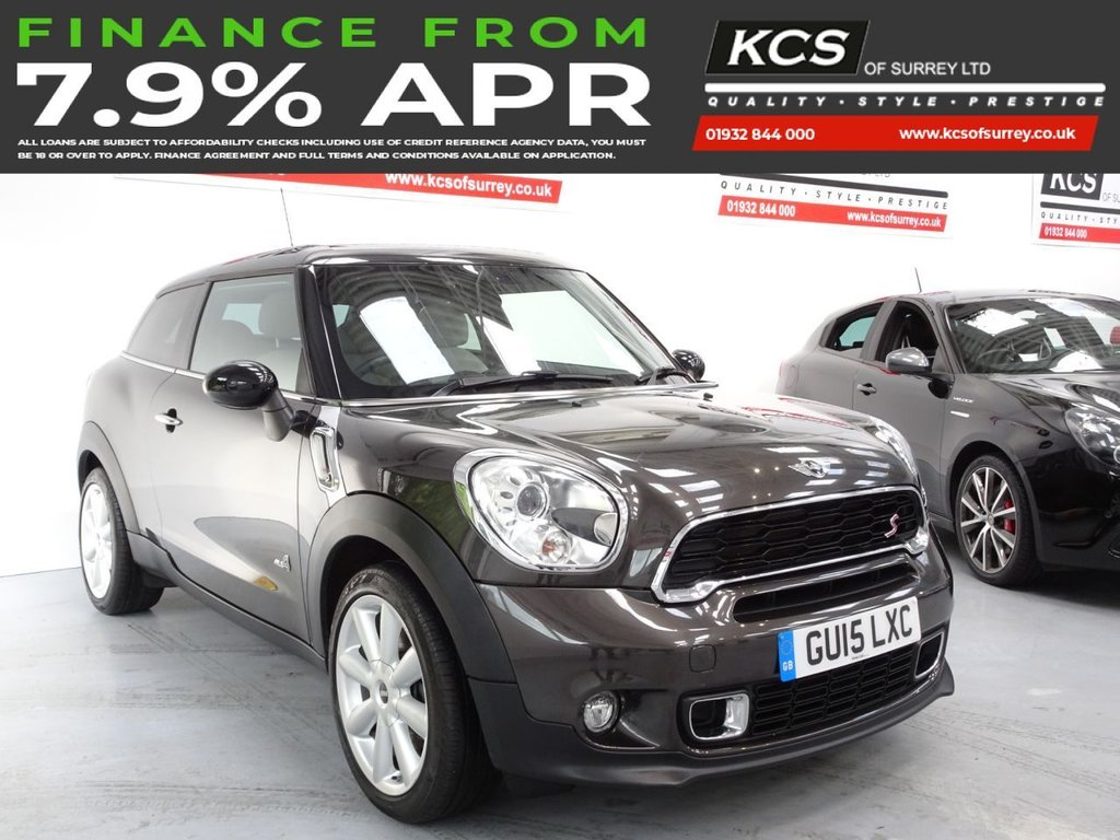USED 2015 15 MINI PACEMAN 1.6 COOPER S ALL4 3d 184 BHP SAT NAV -PAN ROOF- HTD LEATHER