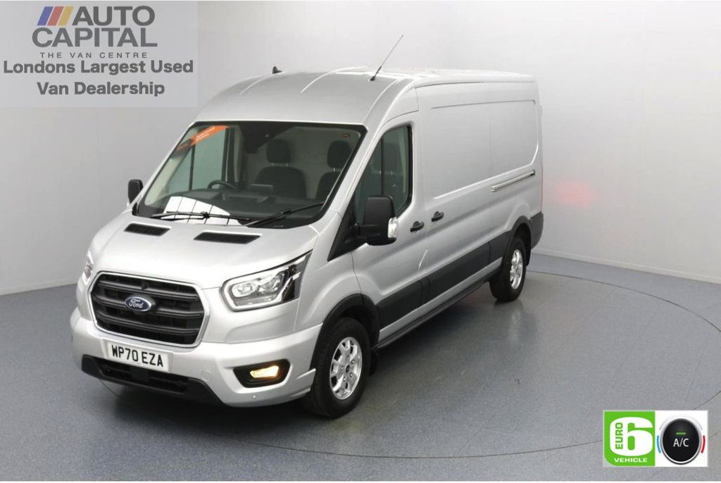 USED 2020 70 FORD TRANSIT 2.0 350 FWD Limited EcoBlue Auto 130 BHP L3 H2 Low Emission Automatic   AppLink   Ford SYNC 3   Apple CarPlay   Eco   Air Con   Start/Stop   F-R Sensors