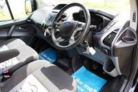 USED 2015 64 FORD TRANSIT CUSTOM 2.2 270 LIMITED LR P/V 124 BHP NO VAT LIMITED BLACK WARRANTY INCLUDED