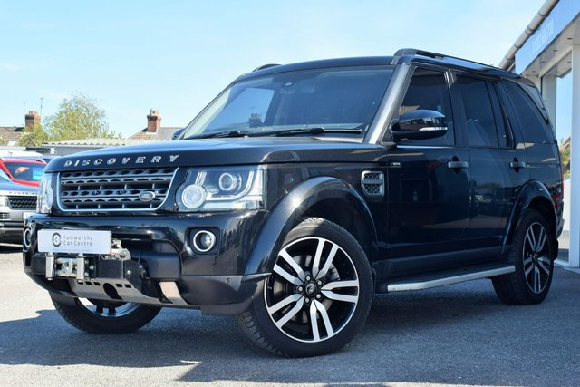 2015 65 LAND ROVER DISCOVERY 4 3.0 SDV6 COMMERCIAL SE 255 BHP VERY LOW MILES