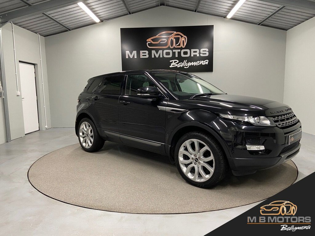 USED 2012 LAND ROVER RANGE ROVER EVOQUE PURE 2.2 TD4 5d 150 BHP