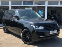 USED 2017 66 LAND ROVER RANGE ROVER 3.0 TDV6 VOGUE SE 5d 255 BHP Spec Including Auto Terrain Response Ambient Lights DAB Cruise Control Front Seat Memory Front & Rear Parking aids With Cameras Heated Steering Wheel Sat Nav Sliding Panoramic Roof Luxurious family 8-Speed Auto! Over £6,500 worth of optional extras!