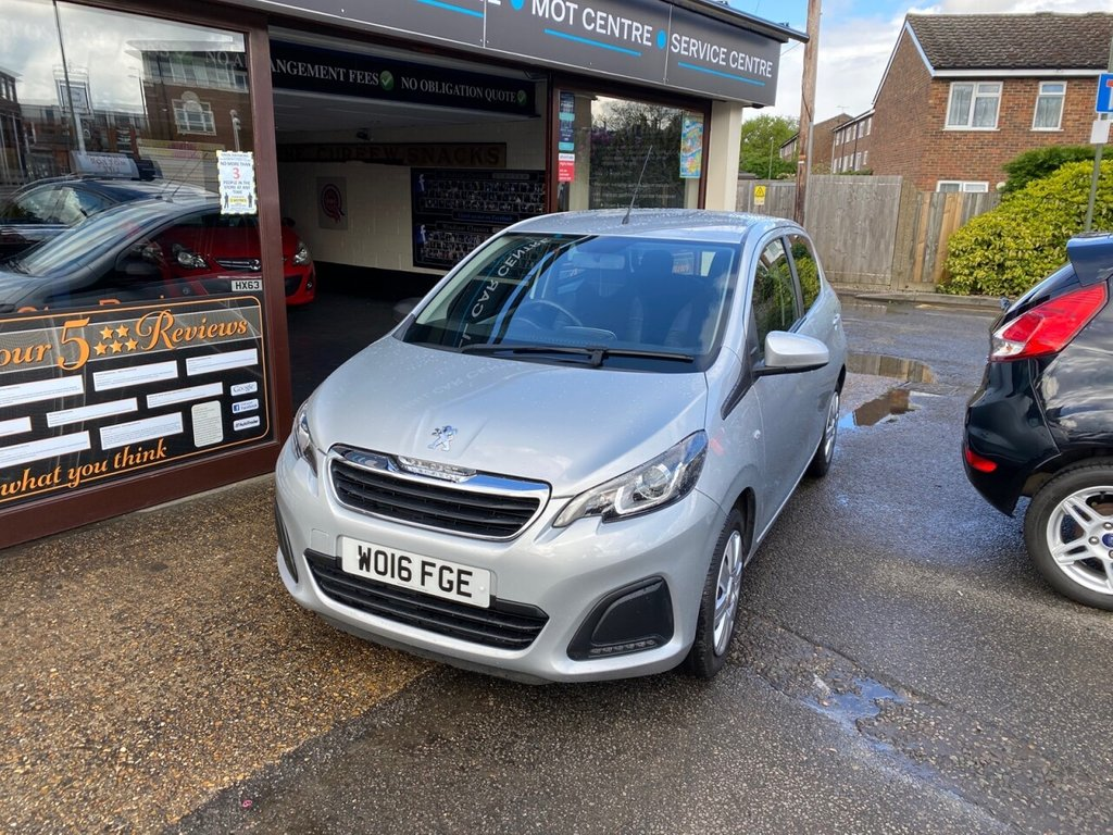 USED 2016 16 PEUGEOT 108 1.0 ACTIVE 5d 68 BHP BLUETOOTH - USB - DAB - AUX - AIRCON