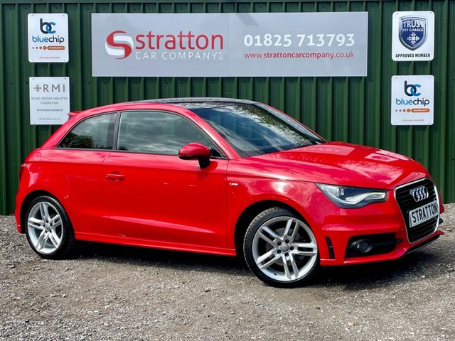 USED 2011 11 AUDI A1 1.4 TFSI S LINE 3d 185 BHP 7 SPEED AUTOMATIC