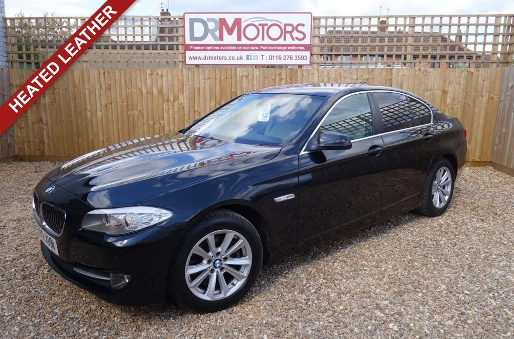 USED 2012 62 BMW 5 SERIES 2.0 520D SE 4d 181 BHP *** 6 MONTHS NATIONWIDE GOLD WARRANTY ***