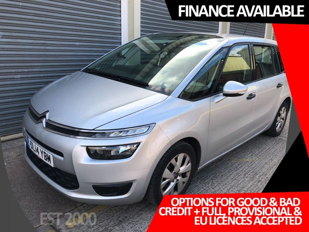 USED 2014 14 CITROEN C4 GRAND PICASSO 1.6 E-HDI AIRDREAM VTR ETG6 5d 91 BHP * 7 SEATS * CRUISE CONTROL * 2 OWNERS * 2 KEYS *