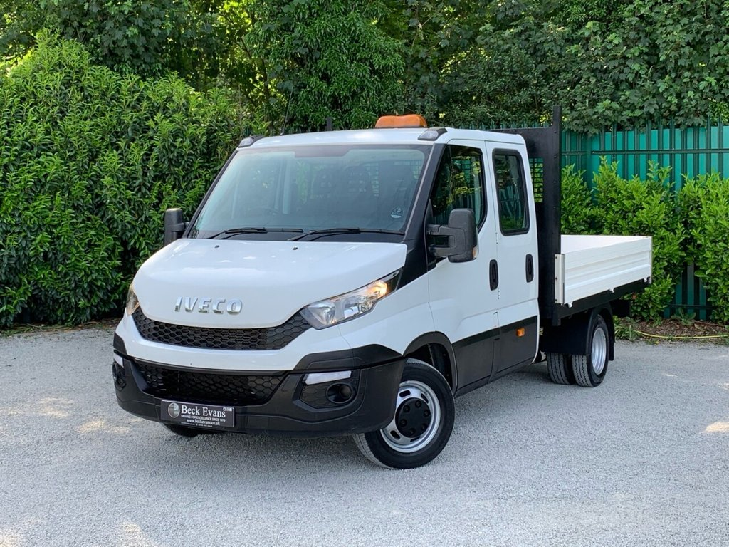 USED 2016 66 IVECO DAILY 2.3 35C13D 126 BHP DOUBLE CAB DROPSIDE
