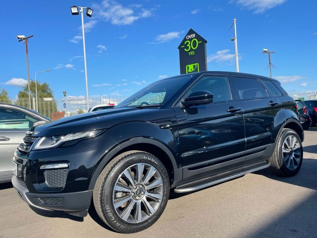 LAND ROVER RANGE ROVER EVOQUE at Peter Scott Cars
