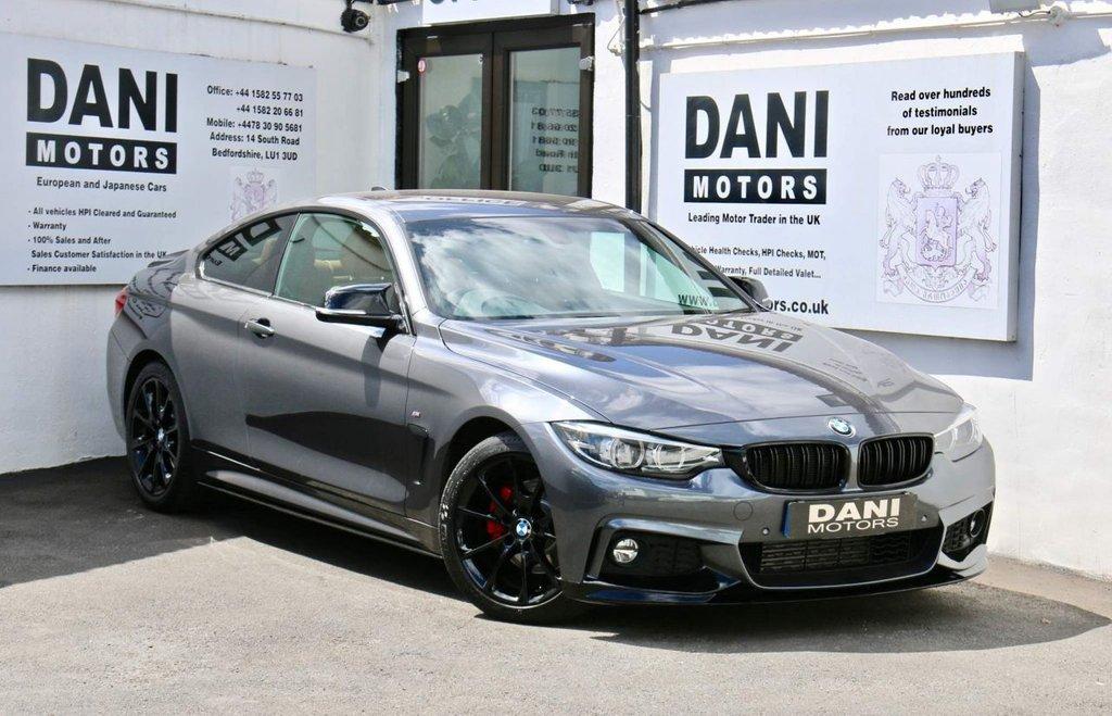 USED 2017 17 BMW 4 SERIES 2.0 420d M Sport Auto 2dr 1 OWNER*PERFORMANCE KIT*SATNAV