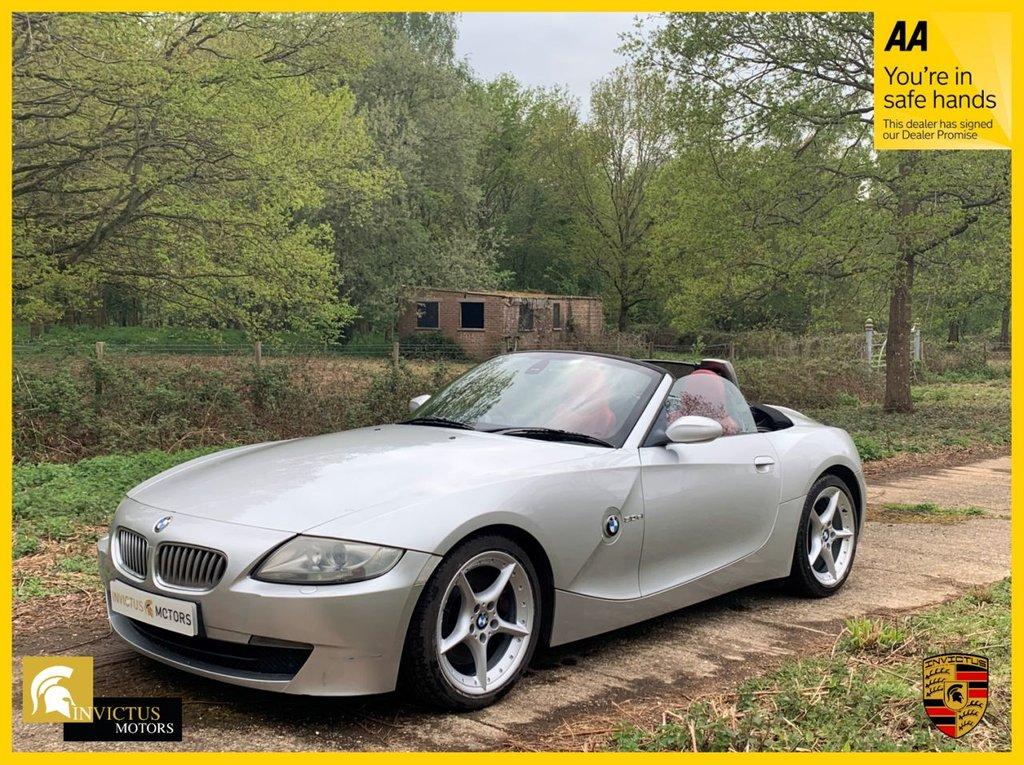 USED 2006 06 BMW Z4 3.0 Z4 SI SPORT ROADSTER 2d 262 BHP