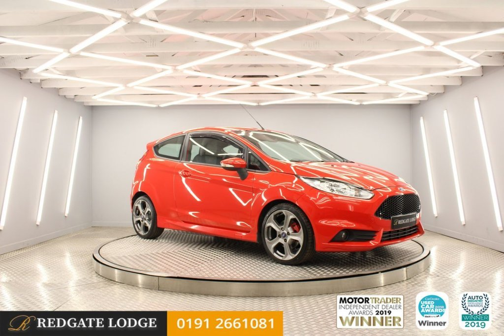 USED 2013 11 FORD FIESTA 1.6 ST 3d 180 BHP 7 SERVICES, DAB, BLUETOOTH, FRESHLY POWDER COATED ALLOYS...