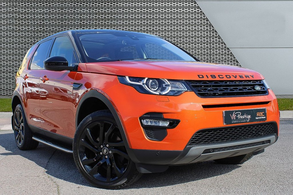 USED 2017 67 LAND ROVER DISCOVERY SPORT 2.0 TD4 HSE BLACK 5d 180 BHP *PAN ROOF/BLACK PACK/7 SEATS*