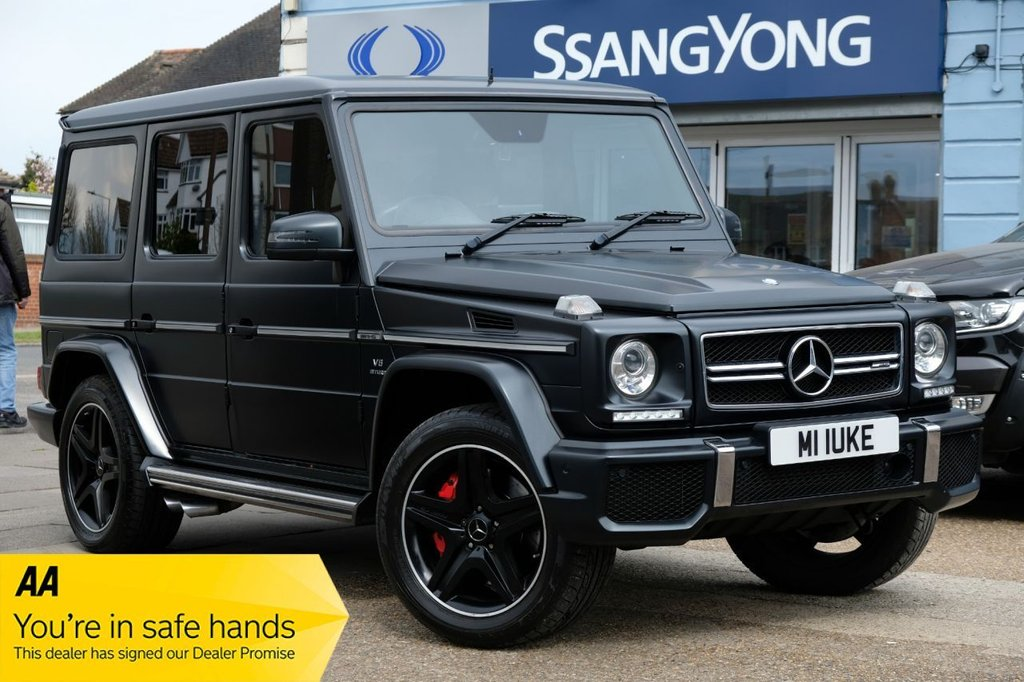USED 2017 17 MERCEDES-BENZ G-CLASS 5.5 G63 AMG 5d 544 BHP AVAILABLE FOR £1669 PER MONTH £0 DEPOSIT