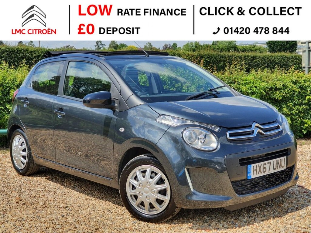 USED 2017 67 CITROEN C1 1.0 AIRSCAPE FEEL 5d 68 BHP ***PAN ROOF + LOW MILEAGE***