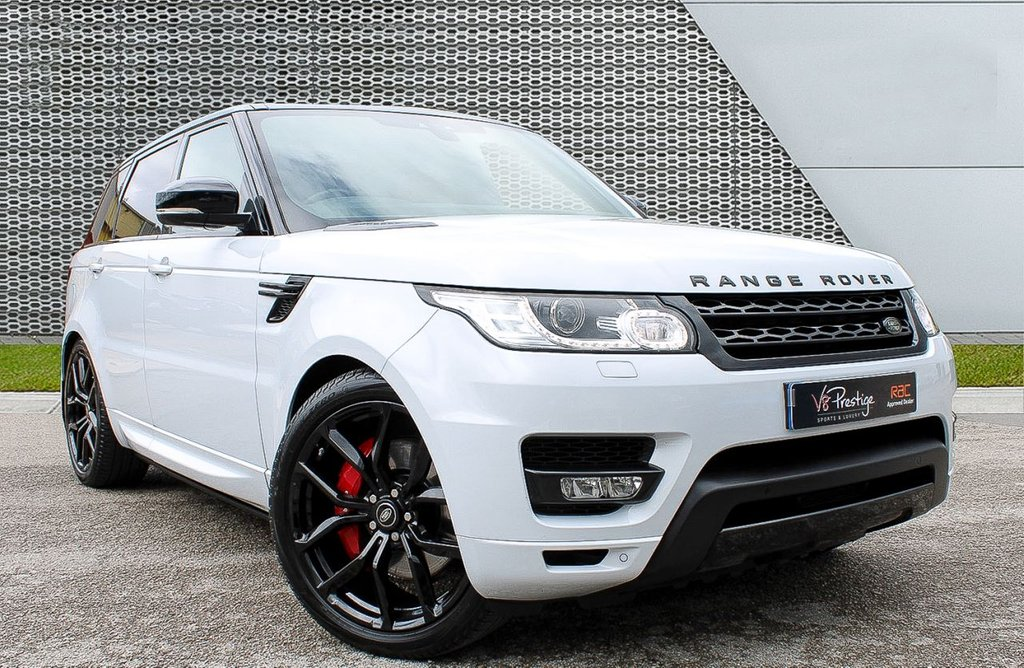 """USED 2018 18 LAND ROVER RANGE ROVER SPORT 3.0 SDV6 HSE DYNAMIC 5d 306 BHP **DEPLOYABLE SIDE STEPS/22""""ALLOYS/P-ROOF**"""