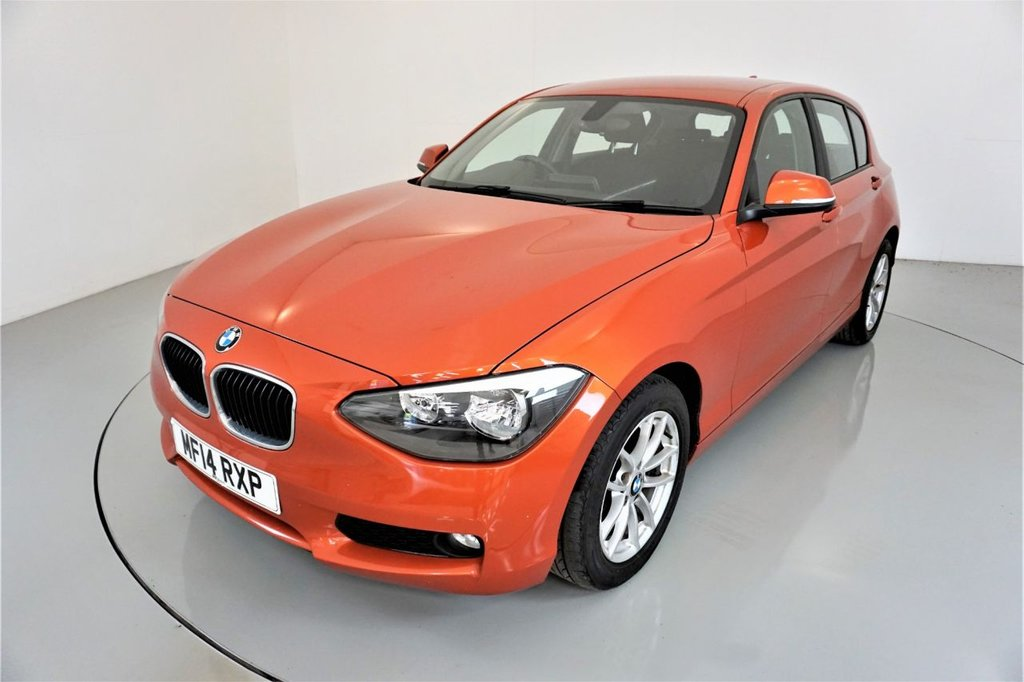 USED 2014 14 BMW 1 SERIES 2.0 116D SE 5d-2 OWNER CAR-20 ROAD TAX-PUSH BUTTON START-BLUETOOTH-DAB RADIO-SPEED LIMITER-AIR CONDITIONING