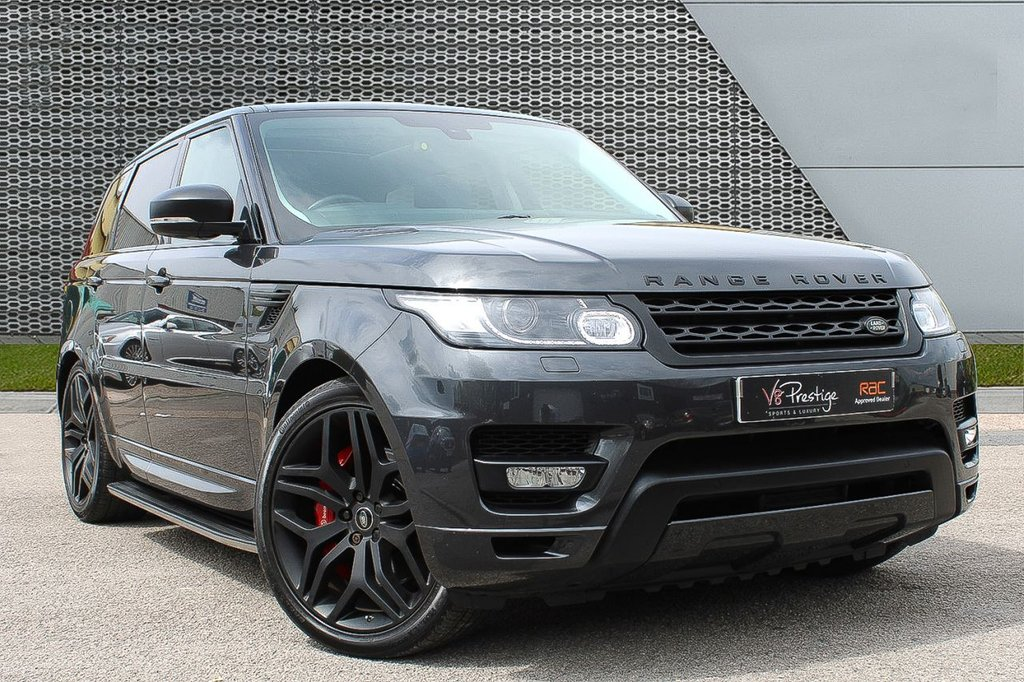 """USED 2015 65 LAND ROVER RANGE ROVER SPORT 3.0 SDV6 HSE DYNAMIC 5d 306 BHP **PAN ROOF/BLACK PACK/22"""" ALLOYS**"""