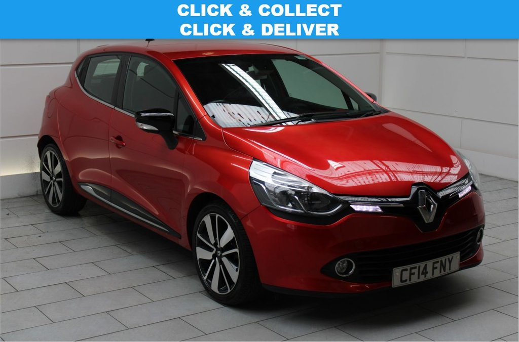 USED 2014 14 RENAULT CLIO 0.9 TCe Dynamique S MediaNav (start/stop)
