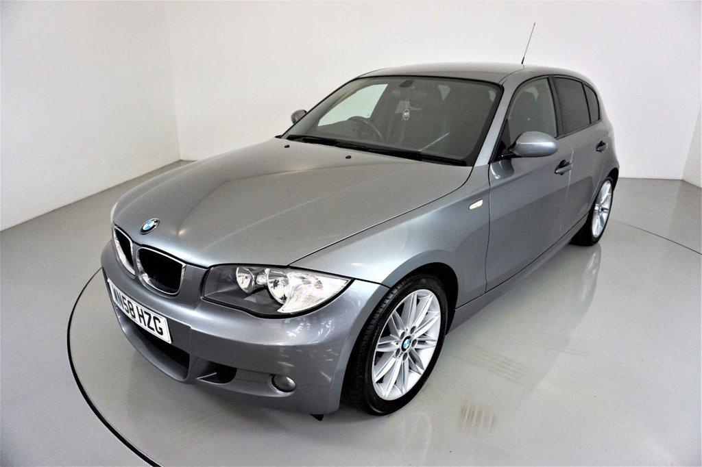 USED 2008 58 BMW 1 SERIES 2.0 118D M SPORT 5d-HALF LEATHER-REAR PARKING SENSORS