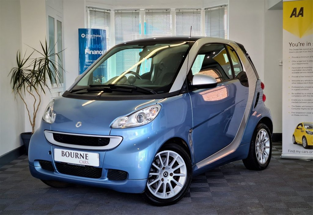 USED 2011 61 SMART FORTWO 1.0 PASSION MHD 2d 71 BHP