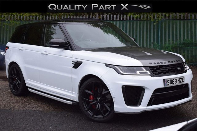 USED 2019 69 LAND ROVER RANGE ROVER SPORT 5.0 P575 V8 SVR Auto 4WD (s/s) 5dr Loaded with Options