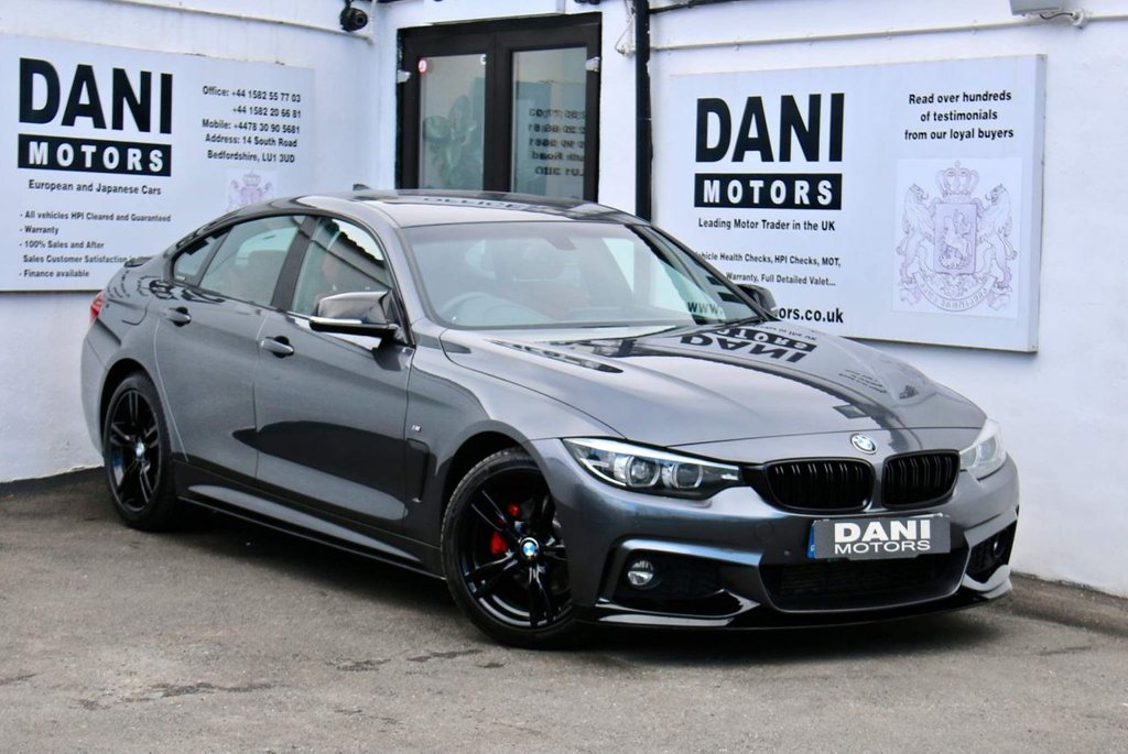 USED 2017 17 BMW 4 SERIES 2.0 420d M Sport Gran Coupe Auto (s/s) 5dr *PERFORMANCE KIT*RED LEATHER*