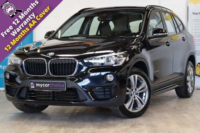USED 2018 67 BMW X1 2.0 SDRIVE18D SPORT 5d AUTO 148 BHP HEATED SEATS, PARKING AID, SAT NAV, CRUISE CONTROL WITH BRAKING SYSTEM, HIGH GLOSS BLACK EXTERIOR TRIM, 6 SPEAKER LOUDSPEAKER SYSTEM