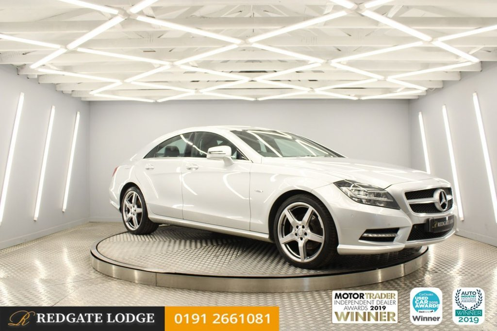 USED 2011 11 MERCEDES-BENZ CLS CLASS 3.0 CLS350 CDI SPORT AMG 4d 265 BHP REVERSE CAMERA, SATELLITE NAVIGATION, LEATHER HEATED SEATS