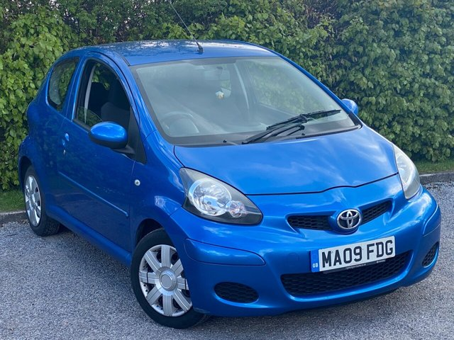 USED 2009 09 TOYOTA AYGO 1.0 BLUE VVT-I 3d 67 BHP **AIR CONDITIONING**