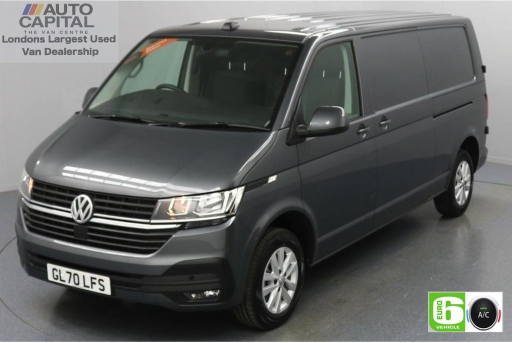 USED 2020 70 VOLKSWAGEN TRANSPORTER 2.0 T30 TDI HighLine Auto 150 BHP LWB Low Emission Automatic | Park Distance Control | Apple CarPlay | Android Auto | MirrorLink | Touch Screen | Air Con | Auto Start-Stop system