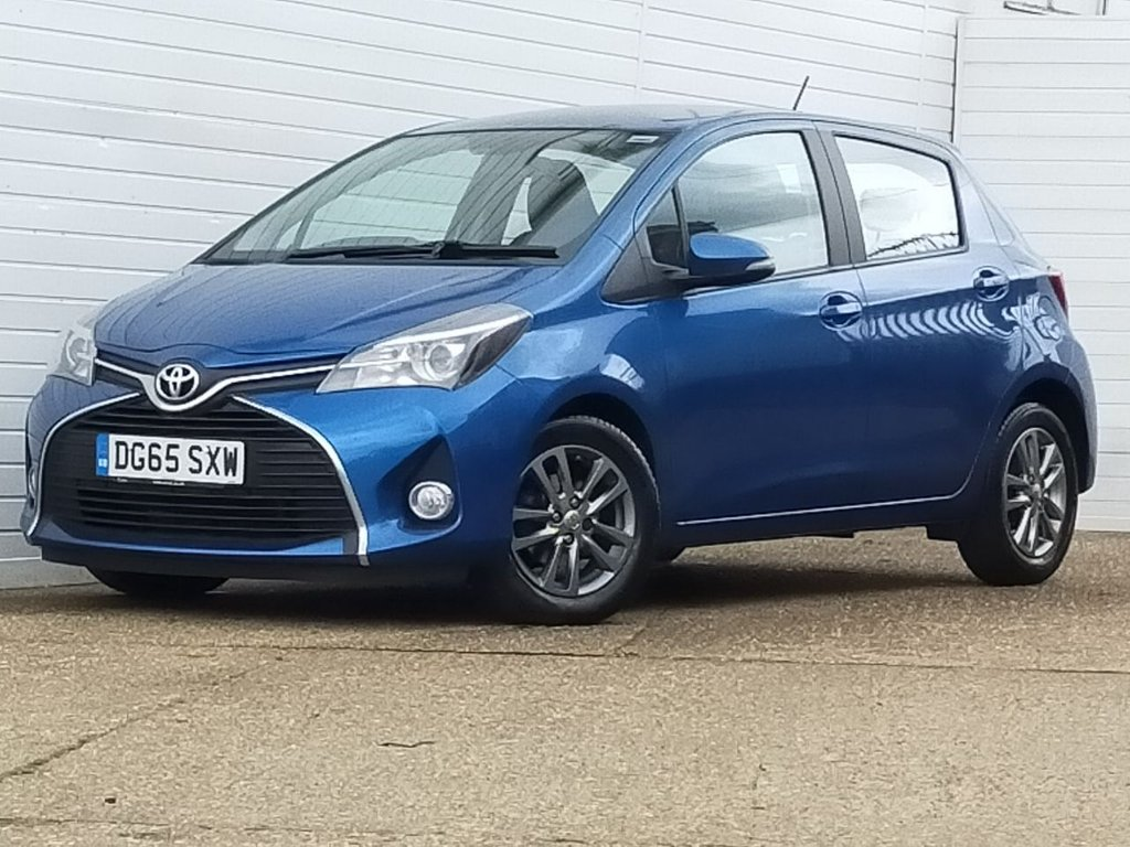USED 2015 65 TOYOTA YARIS 1.4 D-4D ICON 5d 90 BHP
