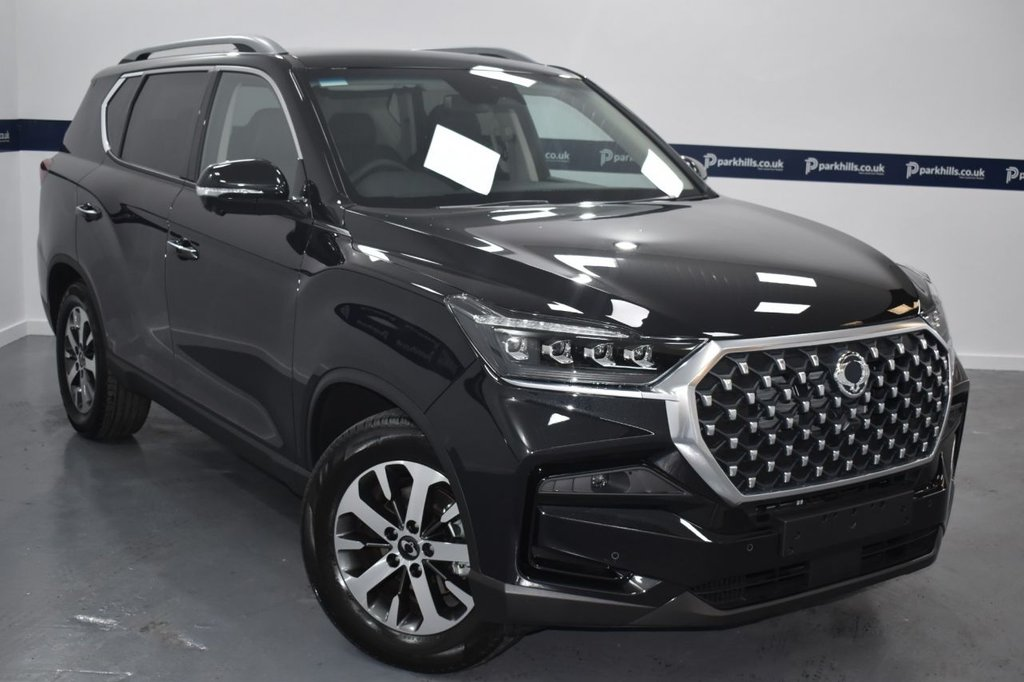 USED 2021 21 SSANGYONG REXTON 2.2 UTIMATE NEW 2021 MODEL