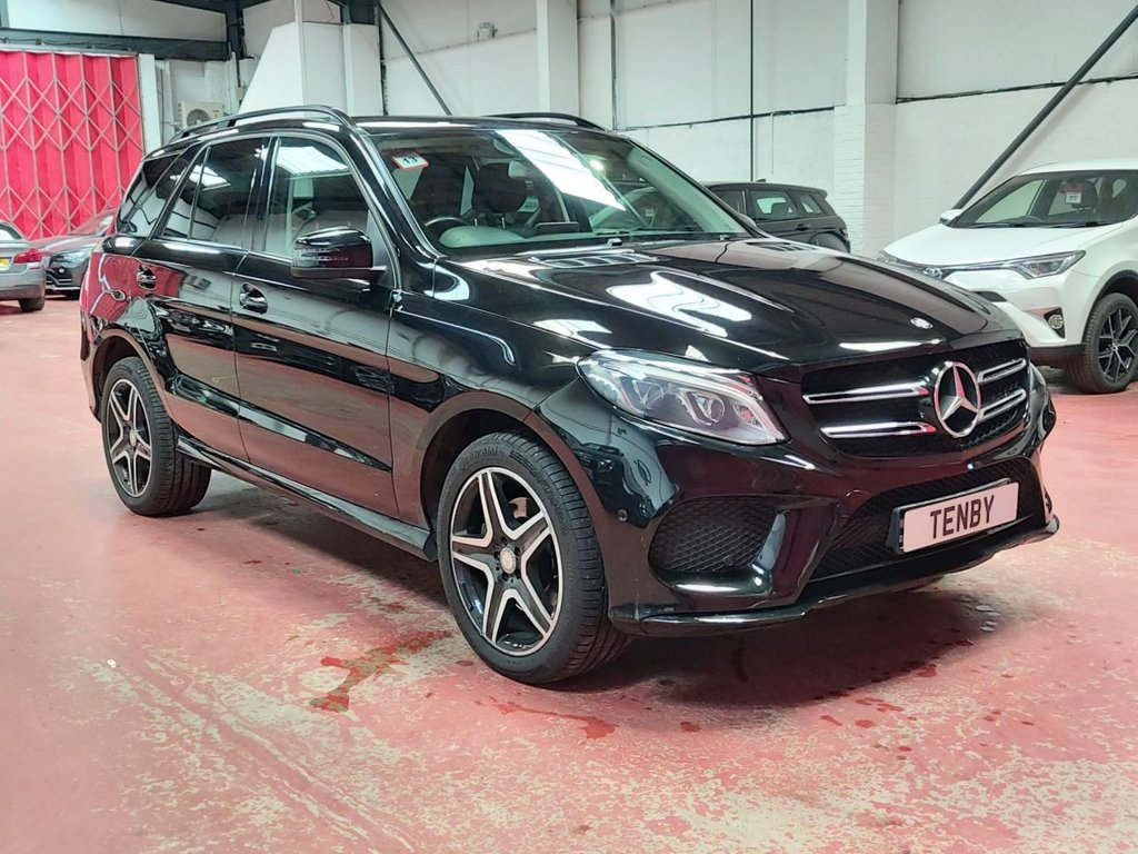 USED 2015 65 MERCEDES-BENZ GLE-CLASS 2.1 GLE 250 D 4MATIC AMG LINE 5d AUTO 201 BHP