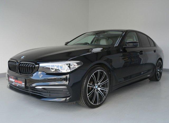 USED 2017 BMW 5 SERIES 2.0 520D SE EFFICIENTDYNAMICS 4DOOR 188 BHP *SAT NAV*