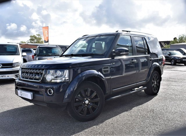 2016 16 LAND ROVER DISCOVERY 4 3.0 SDV6 COMMERCIAL SE 255 BHP 5 SEATER FLRH