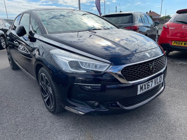 USED 2017 67 DS DS 5 2.0 BLUEHDI PRESTIGE S/S EAT6 5d 178 BHP LEATHER*PANORAMIC ROOF*NAV*CRUISE*PARKING SENSORS*DAB