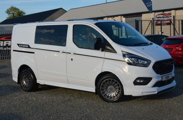 USED 2021 FORD TRANSIT CUSTOM 320 LIMITED ECOBLUE 183 BHP *ELITE EDITION*NEW*Delivery Miles*