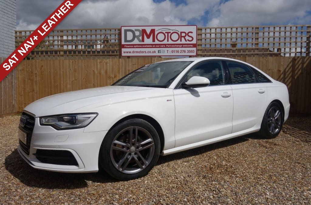 USED 2012 12 AUDI A6 2.0 TDI S LINE 4d 175 BHP *** 6 MONTHS NATIONWIDE GOLD WARRANTY ***