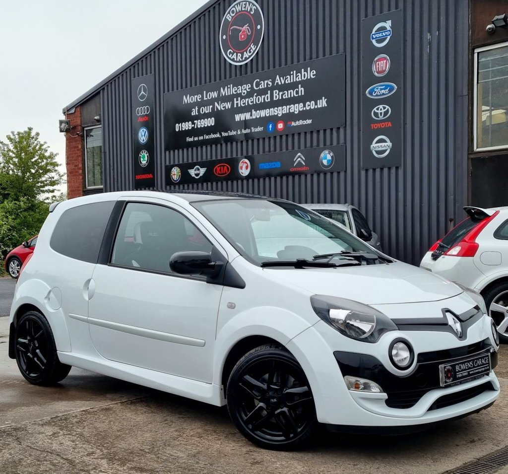 USED 2012 62 RENAULT TWINGO 1.6 RENAULTSPORT 3D 133 BHP 2 Owners - Low Miles - 5 Services