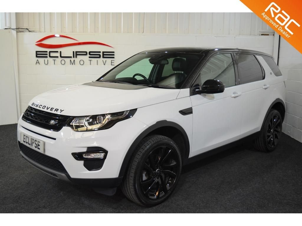 USED 2016 66 LAND ROVER DISCOVERY SPORT 2.0 TD4 HSE BLACK 5d AUTO 180 BHP