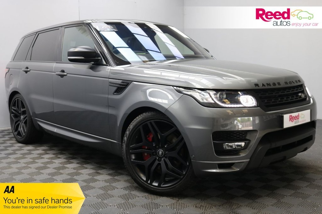 USED 2017 17 LAND ROVER RANGE ROVER SPORT 3.0 SDV6 AUTOBIOGRAPHY DYNAMIC 5d 306 BHP 1OWN+FULL SERV HIST+£3K EXTRAS+LEATHER+STEALTH PCK+HEAD UP DISPLAY