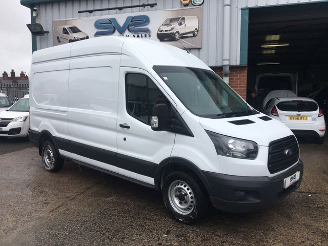 USED 2018 18 FORD TRANSIT T350 L3 H3 LWB HIGH ROOF RWD 6 SPD 130 BHP EURO 6 WITH AIR CON