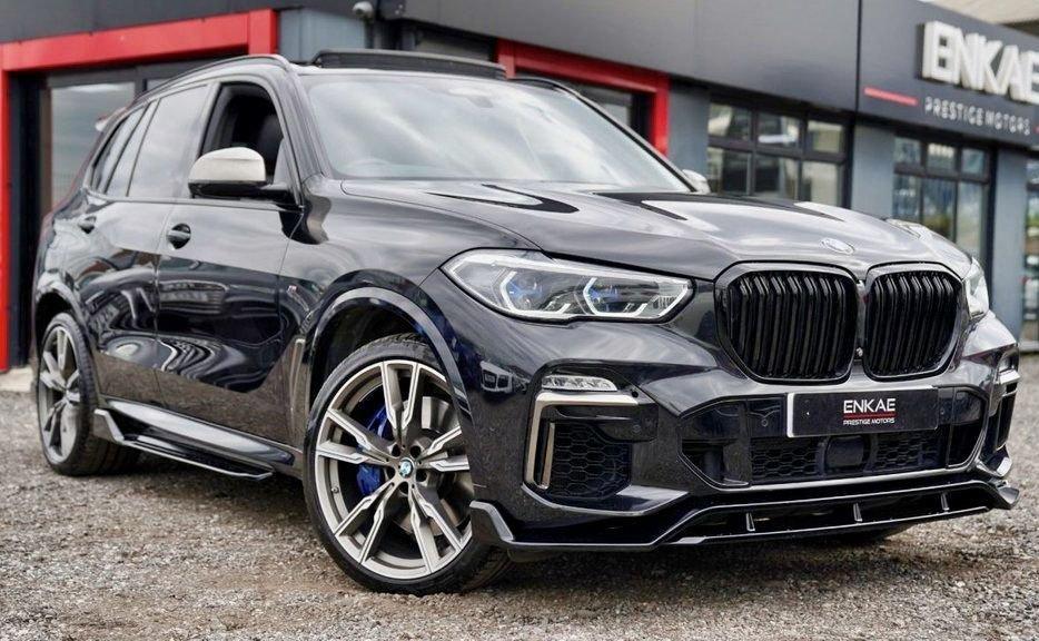 USED 2018 68 BMW X5 3.0 M50D 5d 395 BHP M PERFORMANCE LOADED