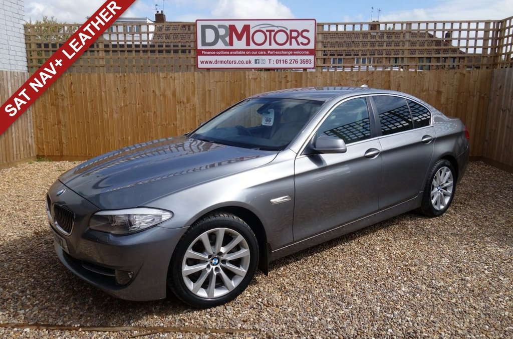 USED 2011 61 BMW 5 SERIES 2.0 520D SE 4d 181 BHP *** 6 MONTHS NATIONWIDE GOLD WARRANTY ***