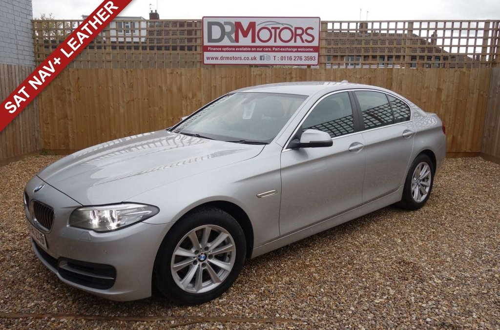 USED 2014 14 BMW 5 SERIES 2.0 518D SE 4d 141 BHP *** 6 MONTHS NATIONWIDE GOLD WARRANTY ***