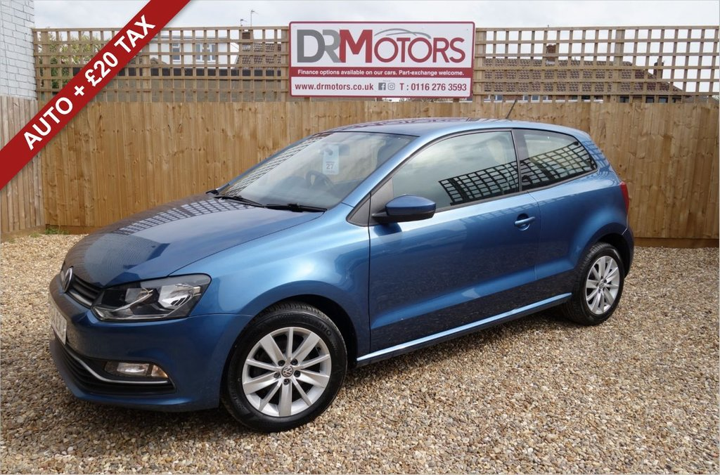 USED 2015 64 VOLKSWAGEN POLO 1.2 SE TSI DSG 3d 89 BHP *** 6 MONTHS NATIONWIDE GOLD WARRANTY ***
