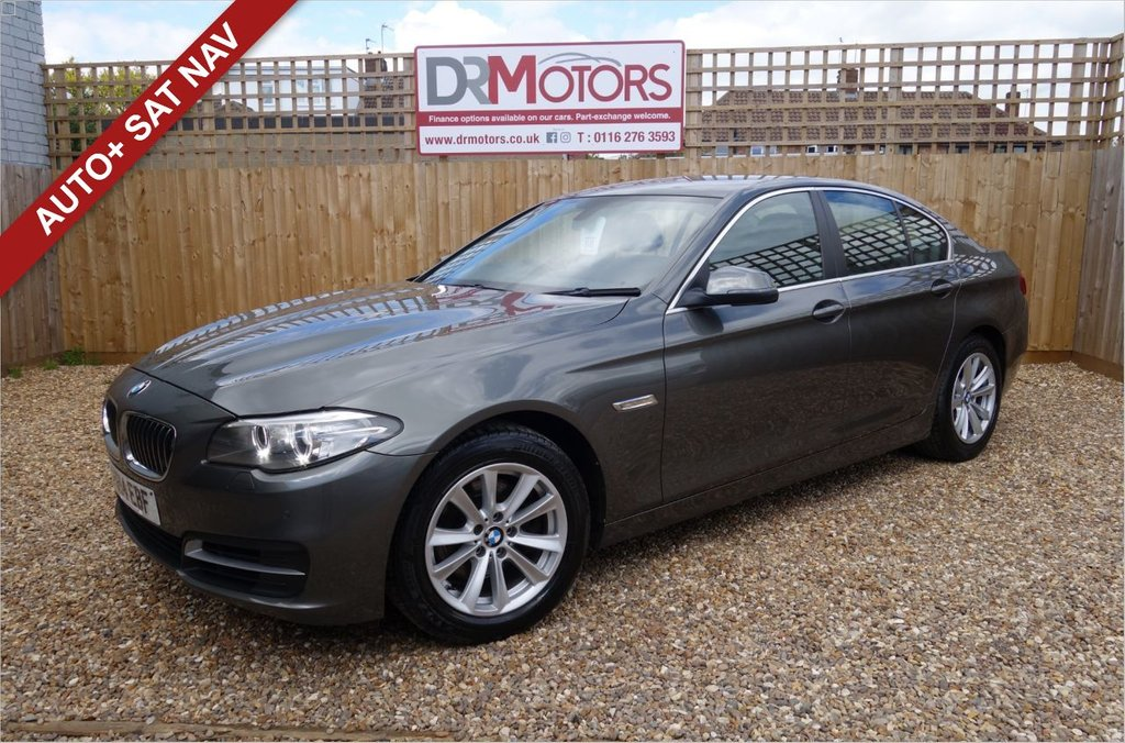 USED 2014 14 BMW 5 SERIES 2.0 520D SE 4d 181 BHP *** 6 MONTHS NATIONWIDE GOLD WARRANTY ***