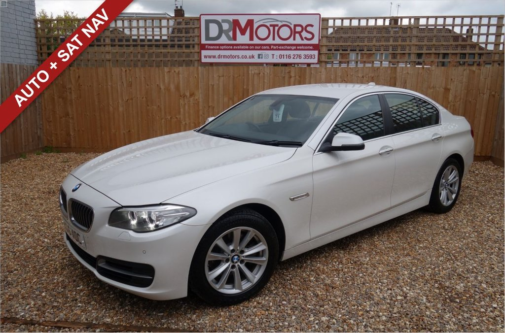 USED 2016 16 BMW 5 SERIES 2.0 518D SE 4d 148 BHP *** 6 MONTHS NATIONWIDE GOLD WARRANTY ***