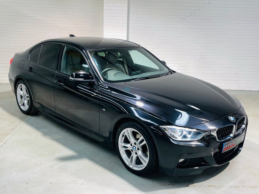 USED 2015 15 BMW 3 SERIES 2.0 318D M SPORT 4d 141 BHP Tints Heated Leather Xenons Nav/Media AA Pass FINANCE
